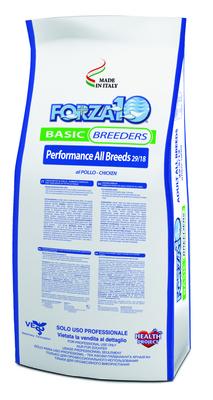 Forza 10 корм для активных взрослых собак всех пород, курица 20 кг