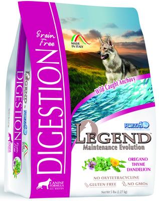 Forza 10 корм для взрослых собак всех пород, беззерновой, чувствительное пищеварение, рыба 2,27 кг