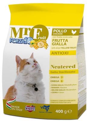 Forza10 Сухой корм MR Fruit для стерилизованных кошек 0210015, 1,500 кг