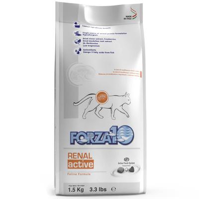 Forza 10 корм для взрослых кошек всех пород с заболеваниями почек, рыба 454 гр