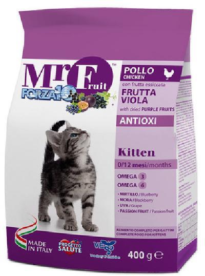 Forza 10 корм для котят всех пород, с экстрактами фиолетовых фруктов, курица 1,5 кг