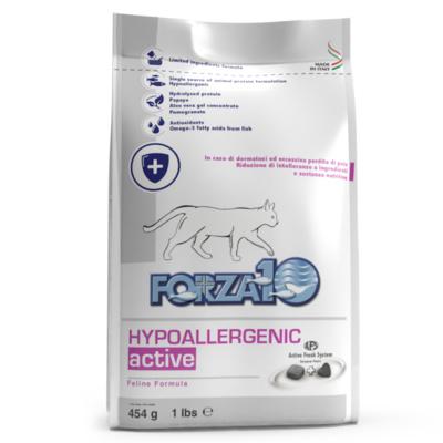 Forza 10 корм для взрослых кошек всех пород, гипоаллергенный, чувствительное пищеварение, рыба 454 гр