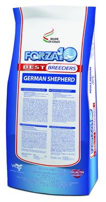 Forza 10 корм для взрослых собак породы Немецкая Овчарка, курица и рыба 20 кг