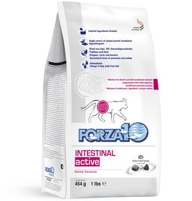Forza 10 корм для взрослых кошек всех пород с расстройствами желудочно-кишечного тракта, рыба 454 гр