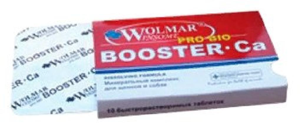 Wolmar Winsome Pro Bio Booster Ca минеральный комплекс для собак средних и крупных пород 540 таблеток, 1200100378
