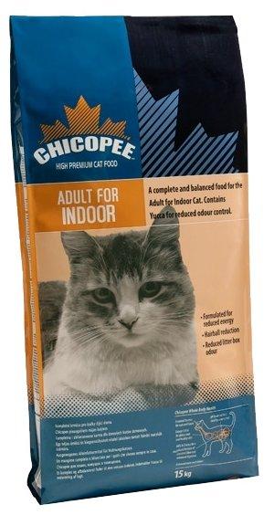 Chicopee корм для взрослых малоактивных кошек всех пород, с птицей 2 кг