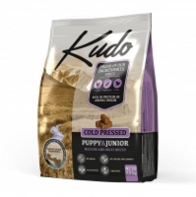 [110.0250]  KUDO сухой корм 7.5 кг для Щенков средних и крупных пород, цыпленок, Сербия , 110.0250