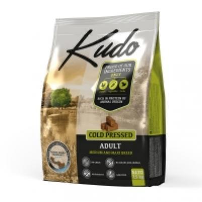 [110.0650]  KUDO сухой корм 7.5 кг для взрослых собак средних и крупных пород, цыпленок, Сербия, 110.0650