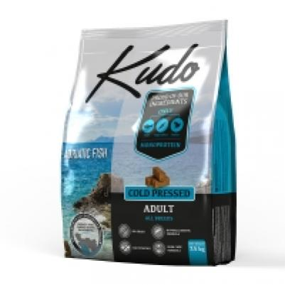 [110.0800]  KUDO сухой корм Адриатическая рыба 2.5 кг для взрослых собак, Сербия (уп-8шт), 110.0800