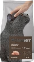Winner корм для взрослых кошек всех пород, домашнего содержания, курица 10 кг