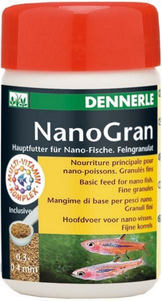[281.5915]  Dennerle Nano Gran - Основной корм в форме мини-гранул для небольших рыб , 100 мл, 281.5915