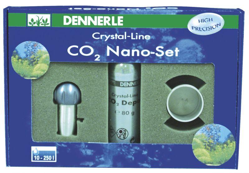 [281.2993]  Dennerle CO2 Nano-Set 80 - Компактная CO2-система для нано- аквариумов, 281.2993