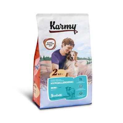 Karmy корм для взрослых собак малых пород, гипоаллергенный, ягненок 2 кг