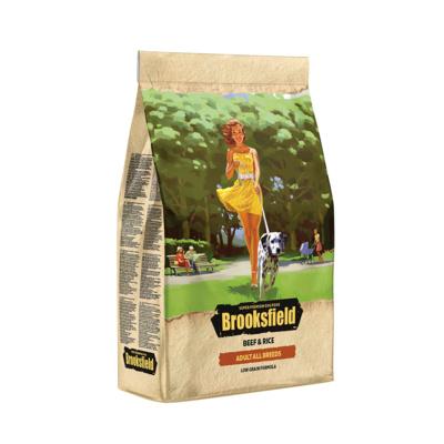 Brooksfield Сухой корм для взрослых собак Говядина и рис Low Grain All Breeds Beef 5651051, 3,000 кг, 53818