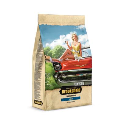 BROOKSFIELD корм для взрослых кошек всех пород, курица с рисом 400 гр