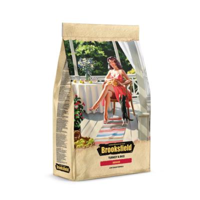 BROOKSFIELD корм для взрослых кошек всех пород, живущих в помещении, индейка с рисом 7 кг