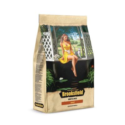BROOKSFIELD корм для взрослых кошек всех пород, говядина с рисом 2 кг