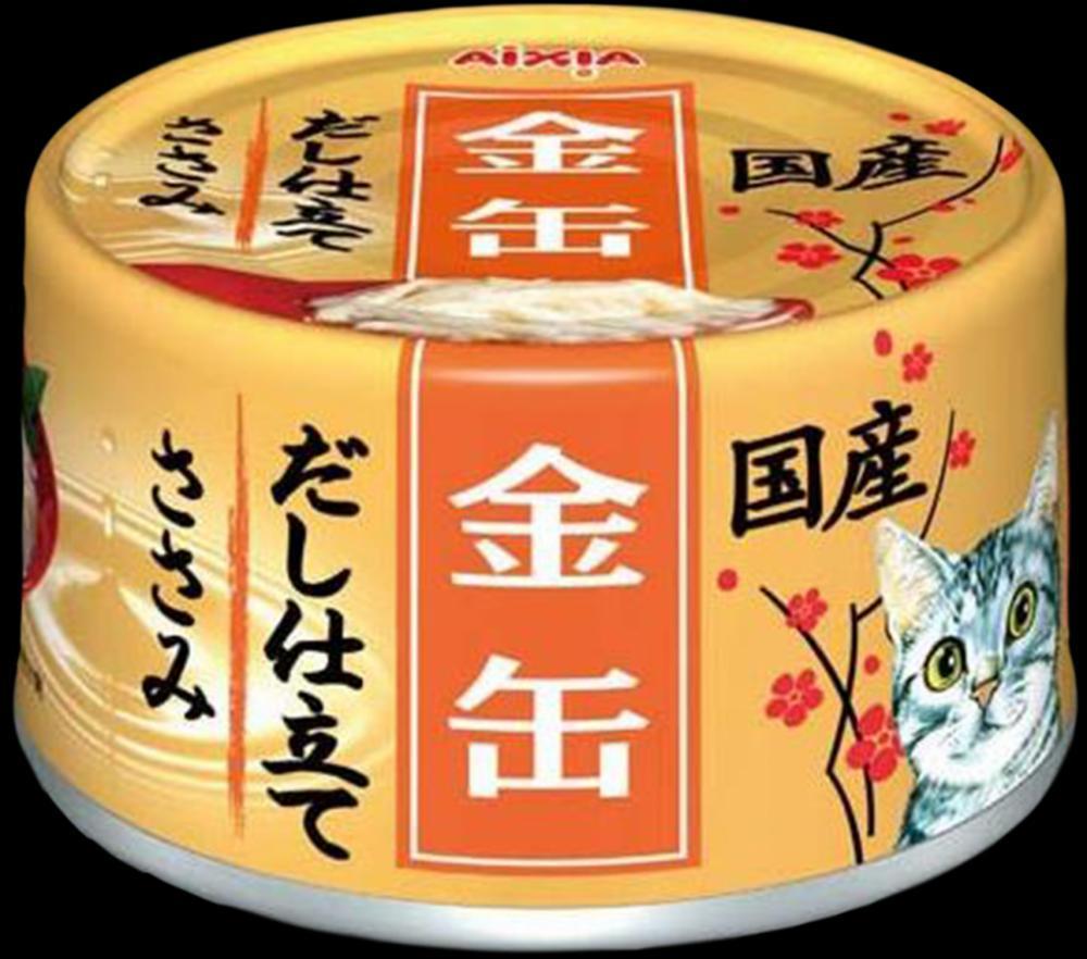 AIXIA Kin-Can Dashi конс для кош, куриное филе, 70гр 1/24/48 GCD-9