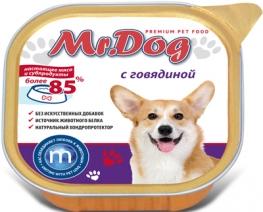 Мистер Дог 60316 кон.д/собак с Говядиной 300г