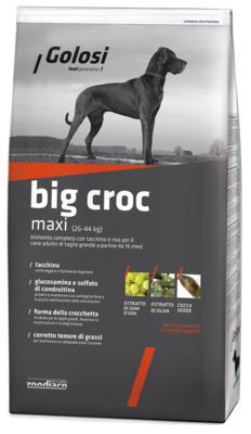 Golosi Сухой корм с индейкой и рисом Макси Крокдля собак ZGD4097BRE, 20,000 кг