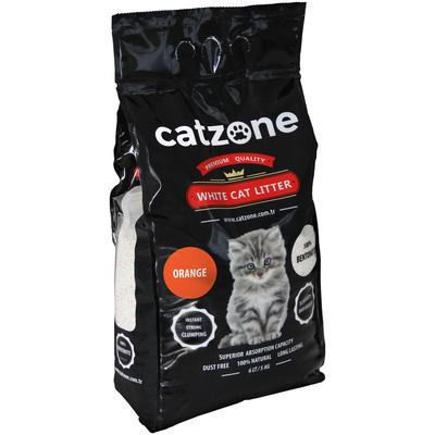 Catzone Наполнитель Orange (Цитрус) пакет - 10 кг CZ018, 10,000 кг