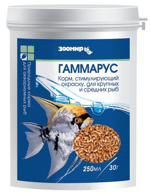 Гаммарус ВАКА основной корм для рыб 250мл, банка (112)