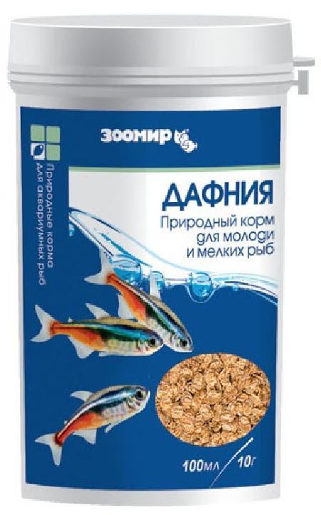 Дафния ВАКА основной корм для рыб 100мл, банка (1144)