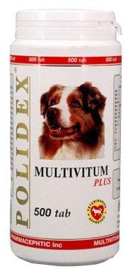 Polidex Multivitum поливитаминно-минеральный комплекс для собак 150 таб