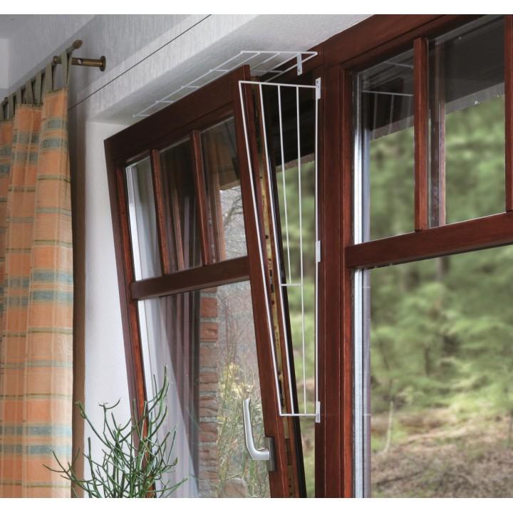 4417 Решетка защитная для окон, верхняя панель, 65 х 168 см, белый