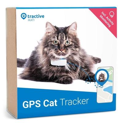 Tractive GPS трекер для кошек, белый TRKAT1, 0,030 кг