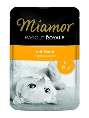 Miamor Паучи для кошек с курицей (кусочки в желе) (RAGOUT mit Huhn) 74051, 0,100 кг