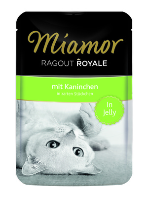 Miamor Паучи для кошек с кроликом (кусочки в желе) (RAGOUT mit Kaninchen)  74055, 0,100 кг
