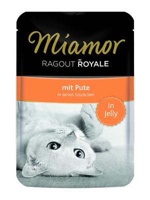 Miamor Паучи для кошек с индейкой (кусочки в желе) (RAGOUT mit Pute) 74052, 0,100 кг