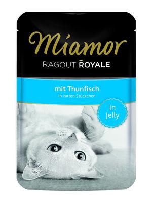 Miamor Паучи для кошек с тунцом (кусочки в желе)  (RAGOUT mit Thunfisch) 74054, 0,100 кг