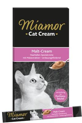Miamor Влажный корм для кошек (кремовое лакомство) с солодом 74305, 0,090 кг, 43433