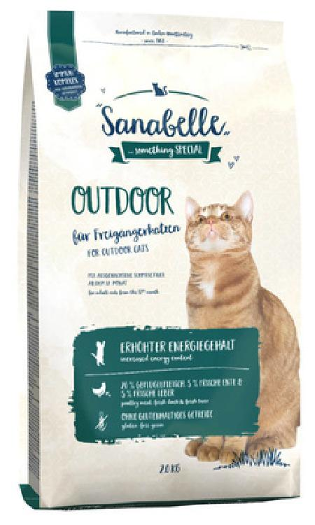 Sanabelle Сухой корм для активных кошек Outdoor 8341004, 0,400 кг