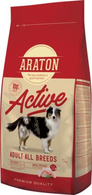 Araton Для активных собак с мясом птицы (ARATON dog adult active) ART45634, 15,000 кг