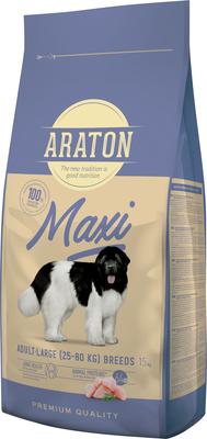 Araton Для взрослых собак крупных пород с мясом птицы (ARATON dog adult maxi ) ART45633, 15,000 кг