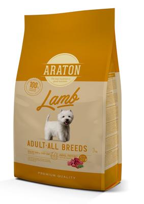 Araton Для взрослых собак с ягненком и рисом (ARATON dog adult lamb) ART45964, 3,000 кг