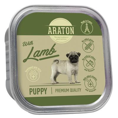 Araton Консервы Безглютеновые консервы для щенков с ягненком (Araton Puppy canned pet food with lamb) KIK45702, 0,150 кг