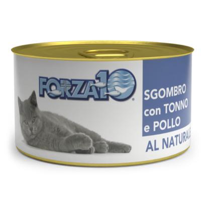Forza10 Влажный корм для кошек скумбрия с тунцом и курицей 425075, 0,075 кг
