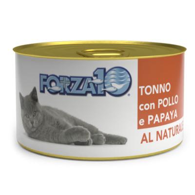 Forza10 Влажный корм для кошек тунец с курицей и папайей 425275, 0,075 кг