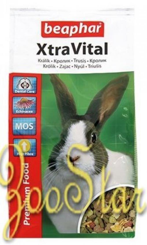 Beaphar XtraVital корм для кроликов 1 кг