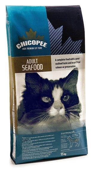 Chicopee корм для взрослых кошек всех пород, с морепродуктами 2 кг