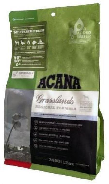 Acana Regionals корм для взрослых собак всех пород, беззерновой, ягненок 340 гр, 13001001