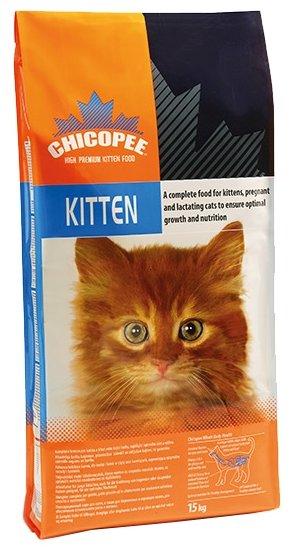 Chicopee корм для котят всех пород, с птицей 2 кг