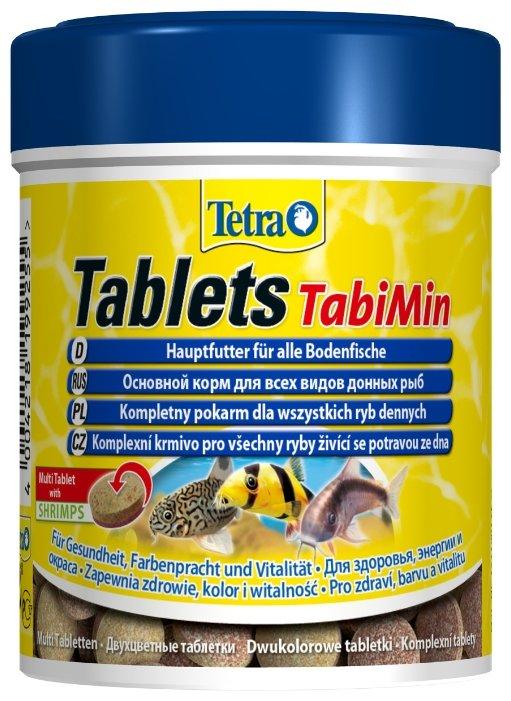 Tetra (корма) Корм для всех видов донных рыб Tablets TabiMin  275 табл. 199255, 0,085 кг