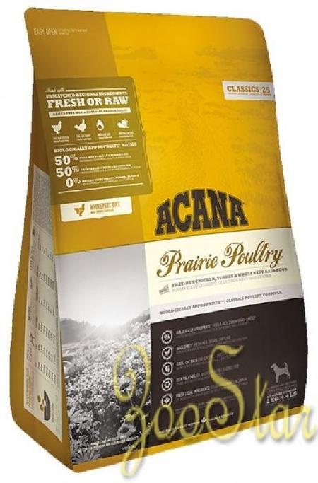 Acana Classics корм для взрослых собак всех пород, беззерновой, цыпленок 2 кг