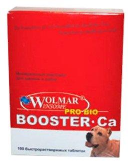 Wolmar Winsome Pro Bio Booster Ca минеральный комплекс для собак средних и крупных пород 360 таблеток, 1600100378