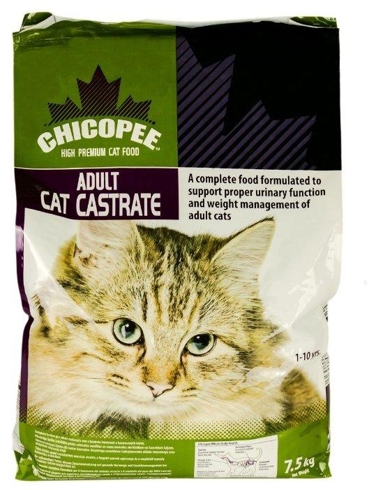 Chicopee корм для взрослых стерилизованных кошек всех пород, с курицей 7,5 кг